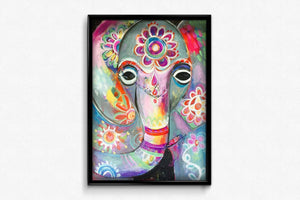 Indian Elephant artwork DIY Diamond Painting Kit