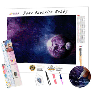 Infinite Universe DIY Diamond Painting Kit