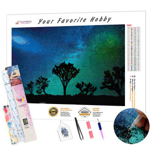 Joshua Tree DIY Diamond Painting Kit