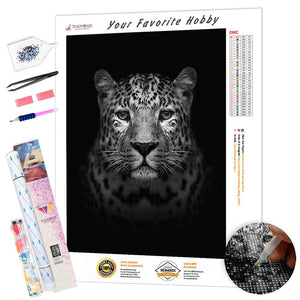 Leopard Look DIY Diamond Painting Kit