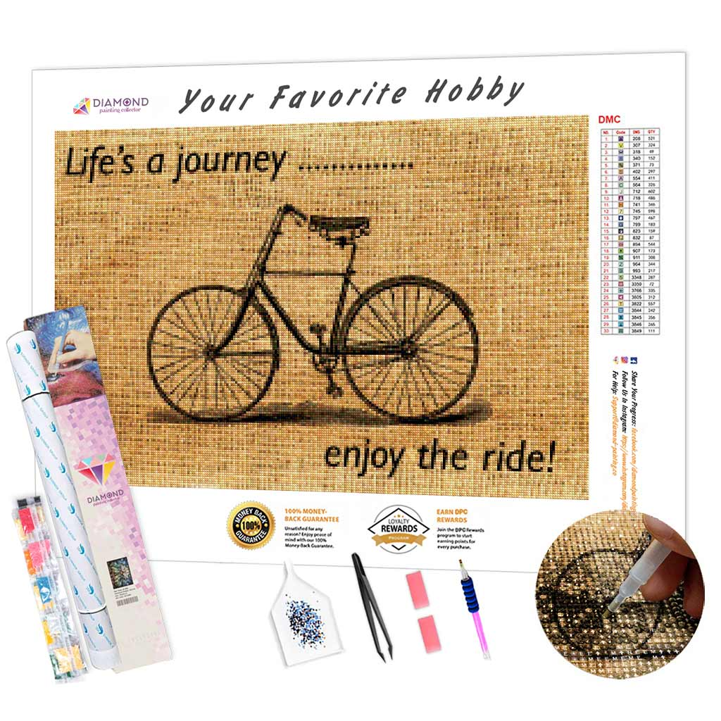 Life's a Journey DIY Diamond Painting Kit