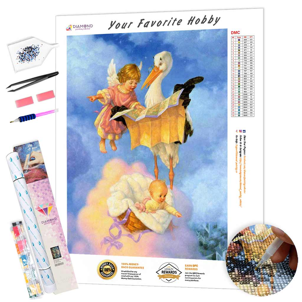 Little Sky Guides DIY Diamond Painting Kit