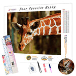 Load image into Gallery viewer, Long Neck Giraffe DIY Diamond Painting Kit