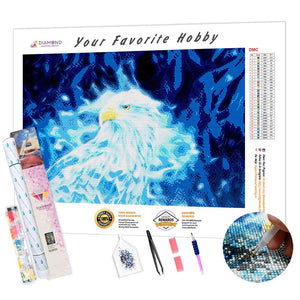 Magic Eagle DIY Diamond Painting Kit