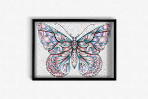 Metal Butterfly DIY Diamond Painting Kit