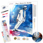 Load image into Gallery viewer, Michael Jackson artwork DIY Diamond Painting Kit - Hidden