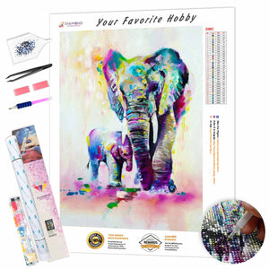 Mom and Baby DIY Diamond Painting Kit