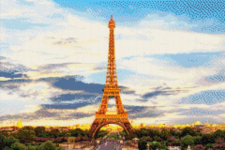 Morning in Paris DIY Diamond Painting Kit