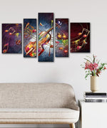 Load image into Gallery viewer, Multi-picture combination Musical Aura 5pcs/set DIY Diamond Painting Kit