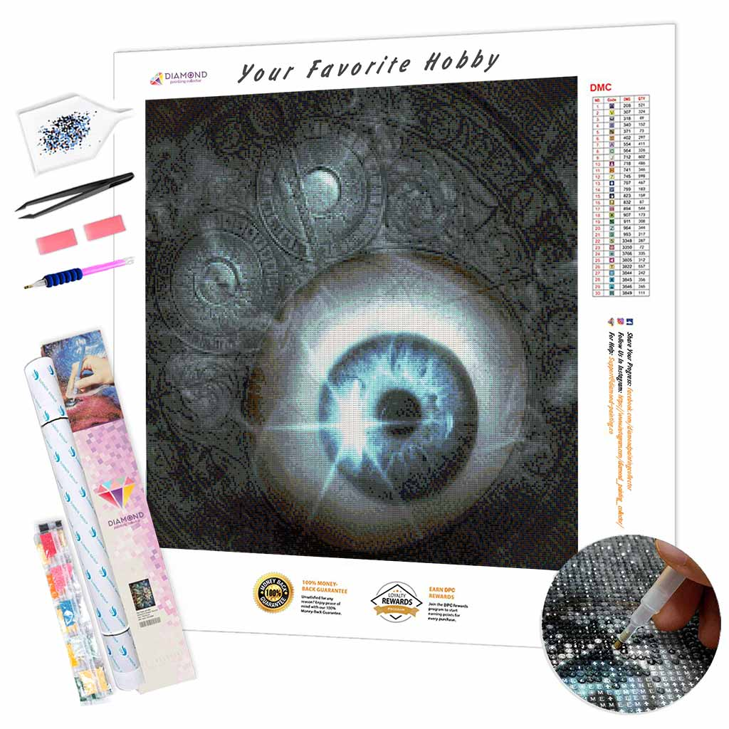Mystical Look DIY Diamond Painting Kit