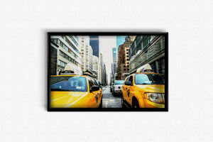 New York Taxi DIY Diamond Painting Kit