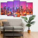Load image into Gallery viewer, Night New York City 5pcs/set DIY Diamond Painting Kit