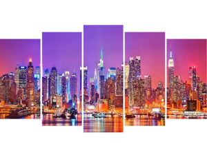 Night New York City 5pcs/set DIY Diamond Painting Kit