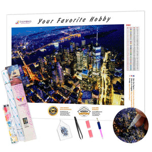 Night New York DIY Diamond Painting Kit