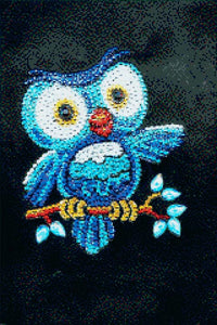 Owl on a Branch DIY Diamond Painting