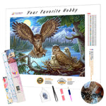 Load image into Gallery viewer, Owls Family DIY Diamond Painting Kit