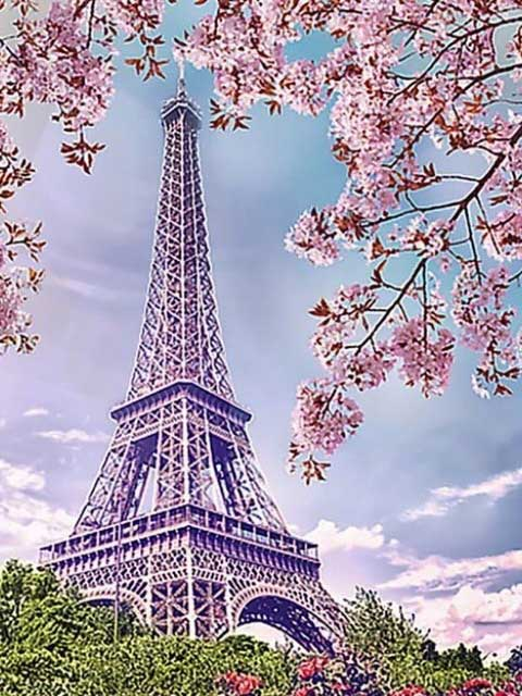 Paris Tower DIY Diamond Painting Kit