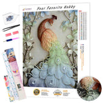 Load image into Gallery viewer, Peacock on the Branches DIY Diamond Painting Kit