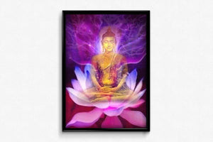 Psychedelic Buddha DIY Diamond Painting Kit