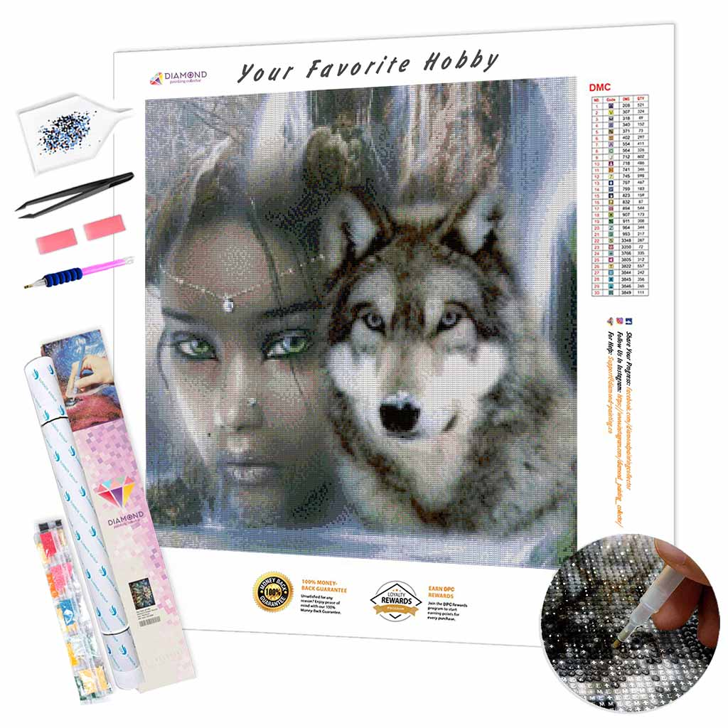 Queen of the Pack DIY Diamond Painting Kit
