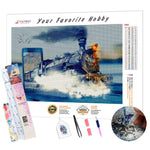 Load image into Gallery viewer, Racing Steam Train DIY Diamond Painting Kit