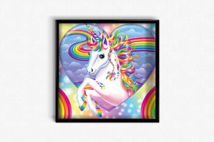 Rainbow Unicorn DIY Diamond Painting Kit