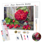 Load image into Gallery viewer, Red Berries DIY Diamond Painting Kit