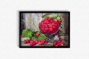 Red Berries DIY Diamond Painting Kit