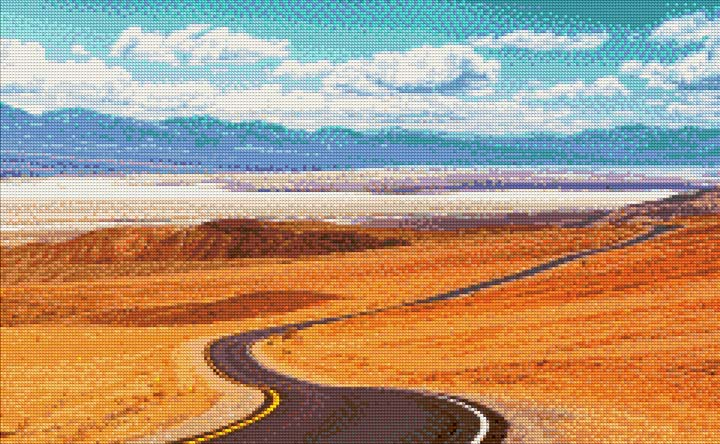 Road to Death Valley DIY Diamond Painting Kit