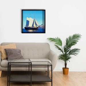 Sailing Ship on the Shores of Greenland DIY Diamond Painting Kit