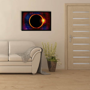 Solar Eclipse DIY Diamond Painting Kit