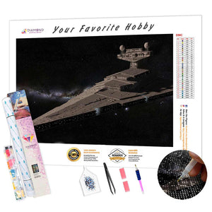 Galactic Destroyer DIY Diamond Painting Kit