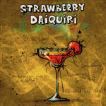 Load image into Gallery viewer, Strawberry Daiquiri Cocktail DIY Diamond Painting Kit