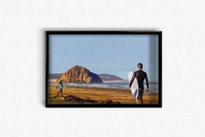 Surfers Waiting for the Wave DIY Diamond Painting Kit