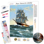 Load image into Gallery viewer, Tailwind in Sails DIY Diamond Painting Kit