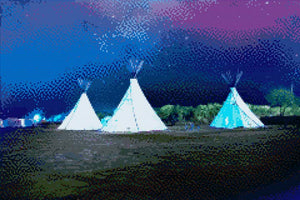 Teepee DIY Diamond Painting Kit