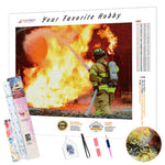 Load image into Gallery viewer, The Taming of Fire DIY Diamond Painting Kit