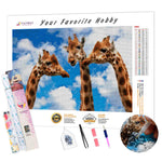 Load image into Gallery viewer, Three Giraffes DIY Diamond Painting Kit