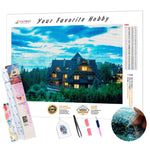 Load image into Gallery viewer, Three-story Cottage DIY Diamond Painting Kit