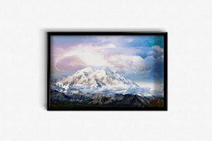 Thunderstorm in the Mountains DIY Diamond Painting Kit