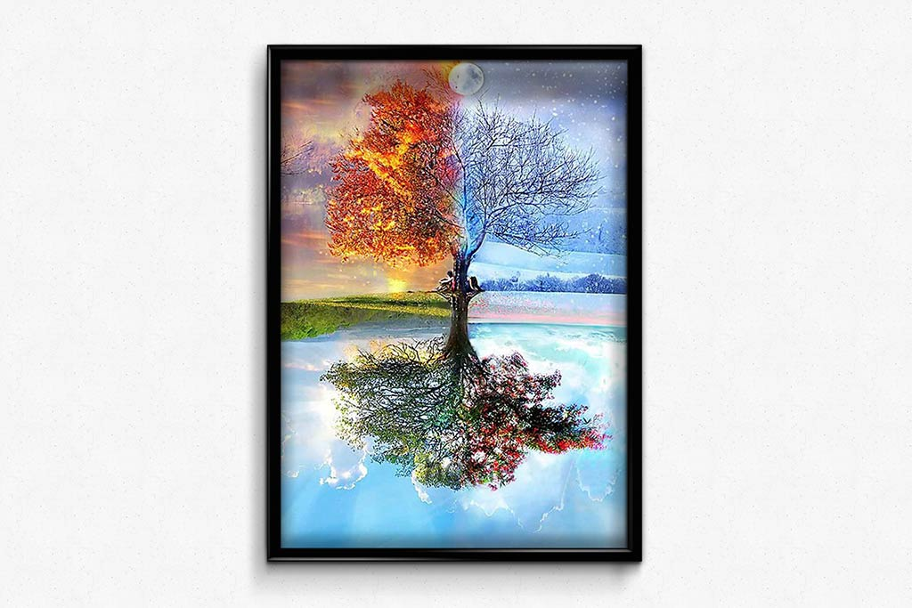 Tree of the Year DIY Diamond Painting Kit