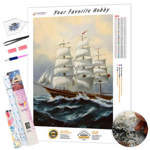 Troubled Ocean DIY Diamond Painting Kit