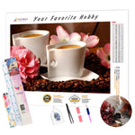 Load image into Gallery viewer, Two Coffee for Lovers DIY Diamond Painting Kit