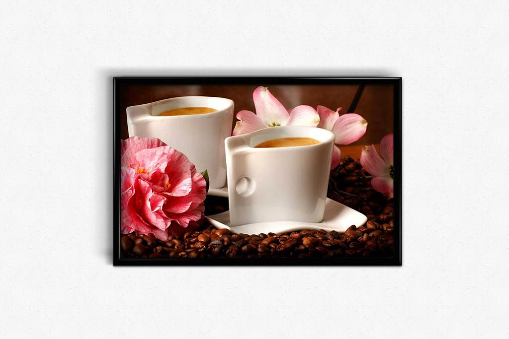 Two Coffee for Lovers DIY Diamond Painting Kit