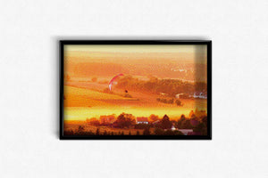 Village in the Mist DIY Diamond Painting Kit