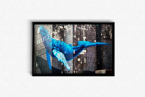 Wall Art Whale DIY Diamond Painting Kit