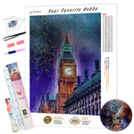 Load image into Gallery viewer, Westminster Tower DIY Diamond Painting Kit
