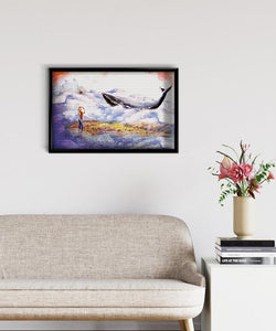 Whale in the Clouds DIY Diamond Painting Kit