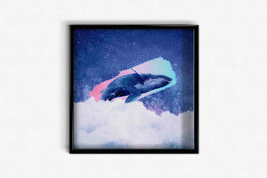 Whale in the Universe DIY Diamond Painting Kit