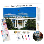 Load image into Gallery viewer, White House DIY Diamond Painting Kit